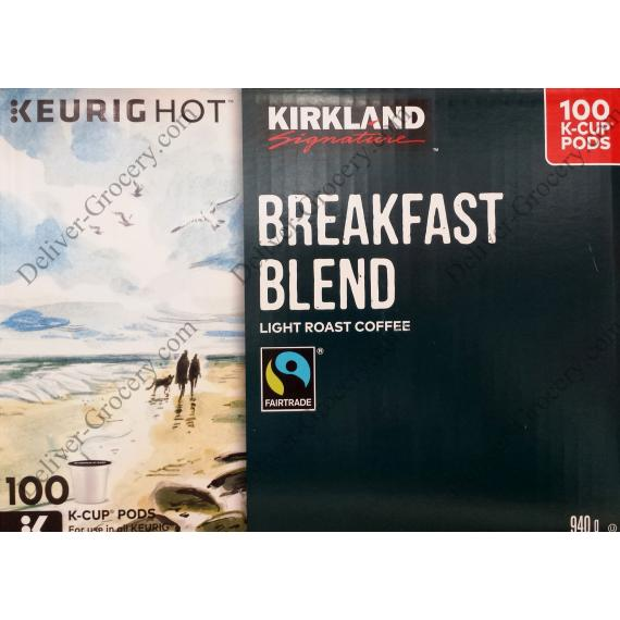 Kirkland Breakfast Blend Coffee, 100 cups, 940 g