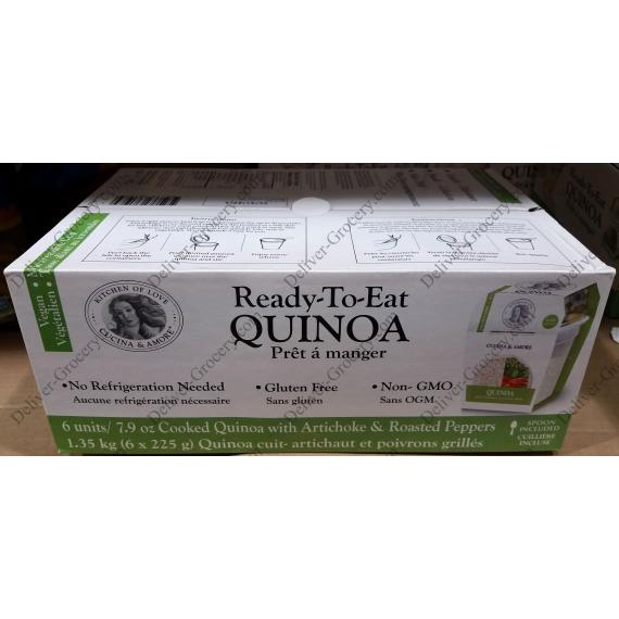 Cucina Prêt-À-Manger du Quinoa 6 x 223 g