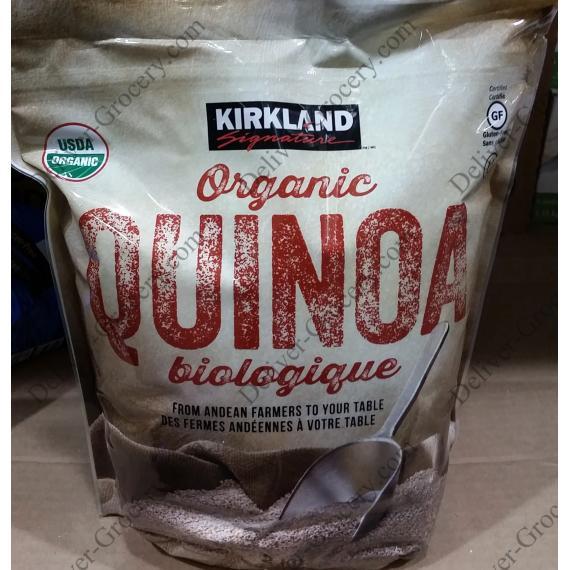 Kirkland Signature Organic Quinoa 2.04 kg