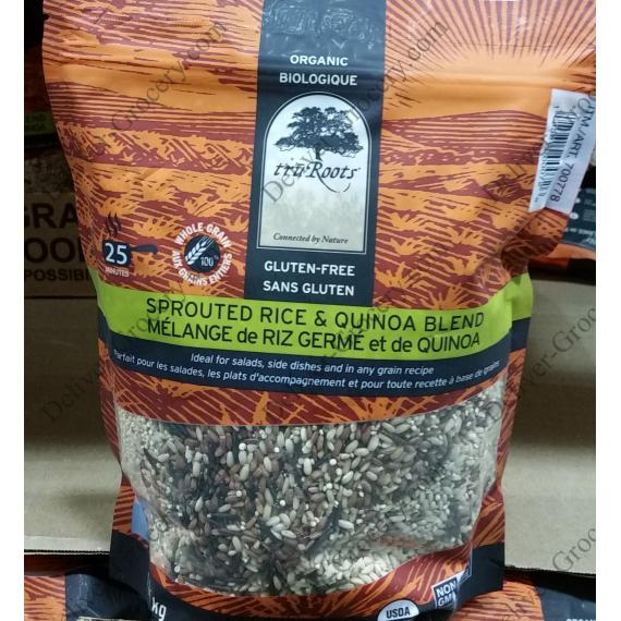 Truroots Organic Sprouted Rice & Quinoa Blend 1 kg