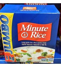 Minute Rice - Riz à grain long 3 kg