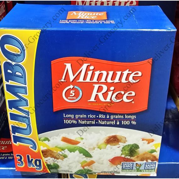 Minute Rice 3 kg