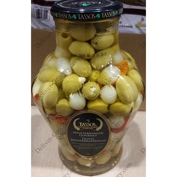 Tassos De La Méditerranée Olives 2 L