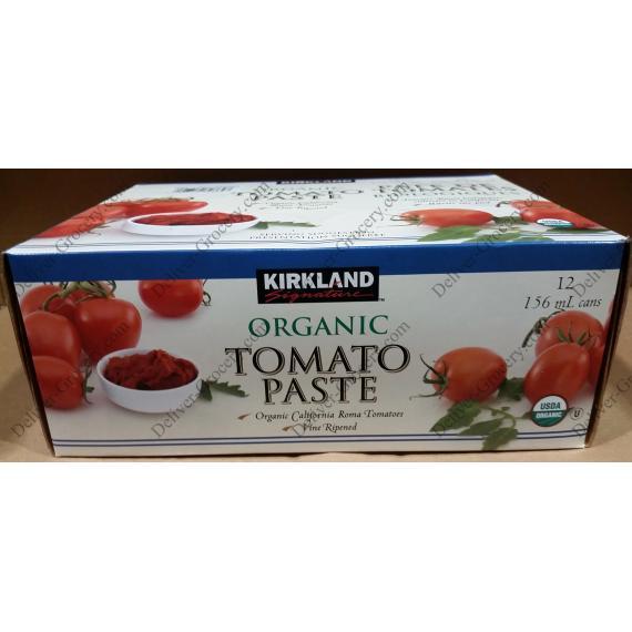 Kirkland Signature Organic Tomato Paste 12 x 156 ml