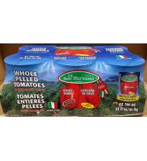 La San Marzano Whole Peeled Tomatoes 6 x 796 ml