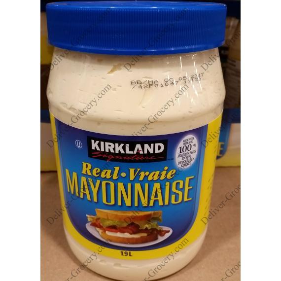 Kirkland Signature Real Mayonnaise 1.9 L