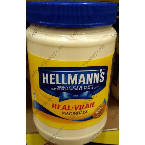 Hellmanns Real Mayonnaise 1.8 L