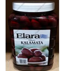 Elara Olives Kalamata, 2 L