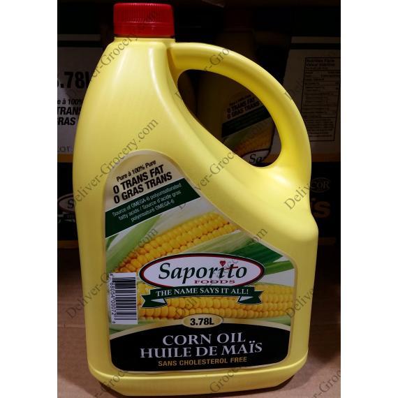 Saporito Corn Oil, 3.78 L