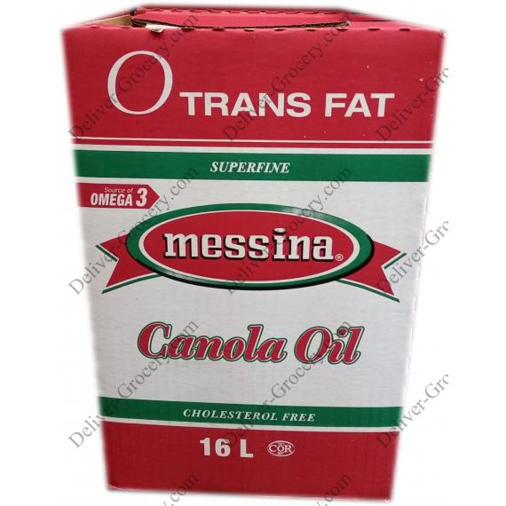 Messina Canola Oil, 16 L