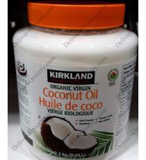 Kirkland Signature Vierge Bio Huile de noix de Coco, 2.3 kg