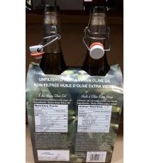 IL Grezzo Huile d'Olive Extra Vierge, 2 x 1 L