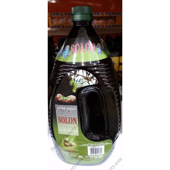 Solon Extra Virgin Olive Oil, 3 L