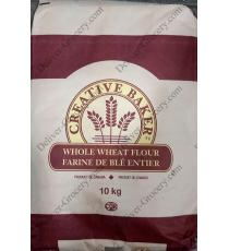 Creative Baker Whole Wheat Flour, 10 kg