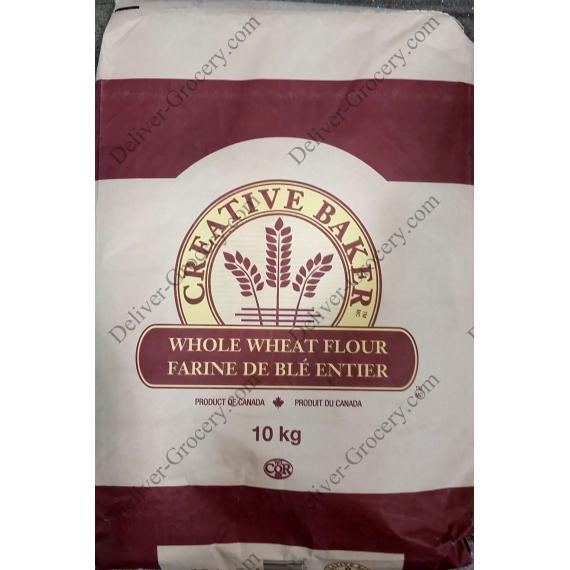 Creative Baker Whole Wheat Flour, 10 kg