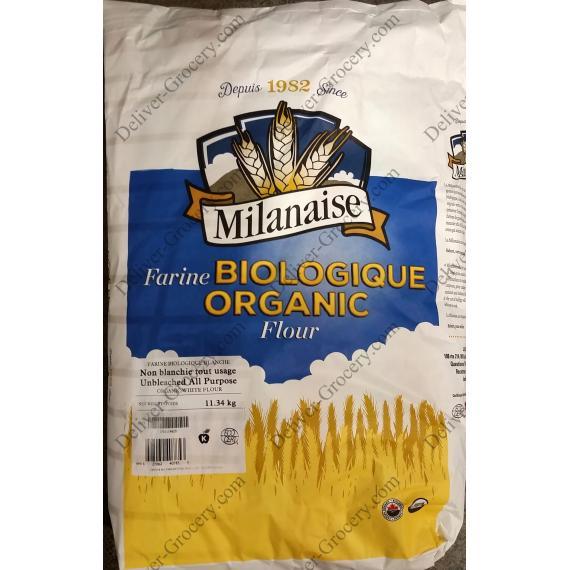 Escaloppe milanaise Organique de Farine Tout Usage, de 11,34 kg