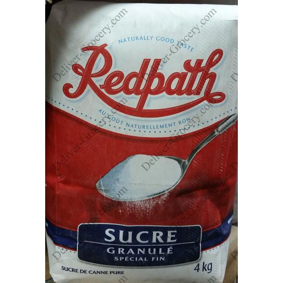 Redpath Granulated White Sugar, 4 kg