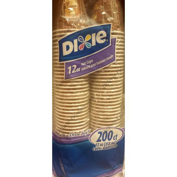 Dixie Tasse de Café, 200 tasses, 355 ml