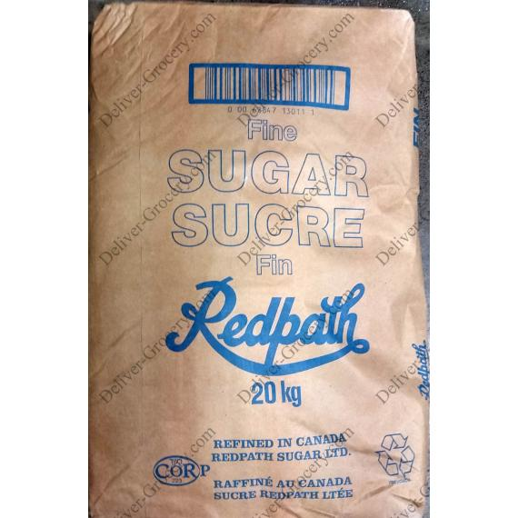 Redpath Granulated White Sugar, 20 kg
