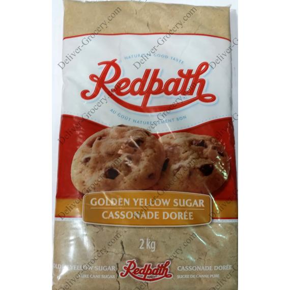 Redpath Golden Yellow Sugar, 2 kg