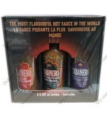 Tabanero Assorted Sauces 3 x 237 ml