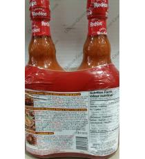 Franks Red Hot Pepper Sauce, 2 x 680 ml