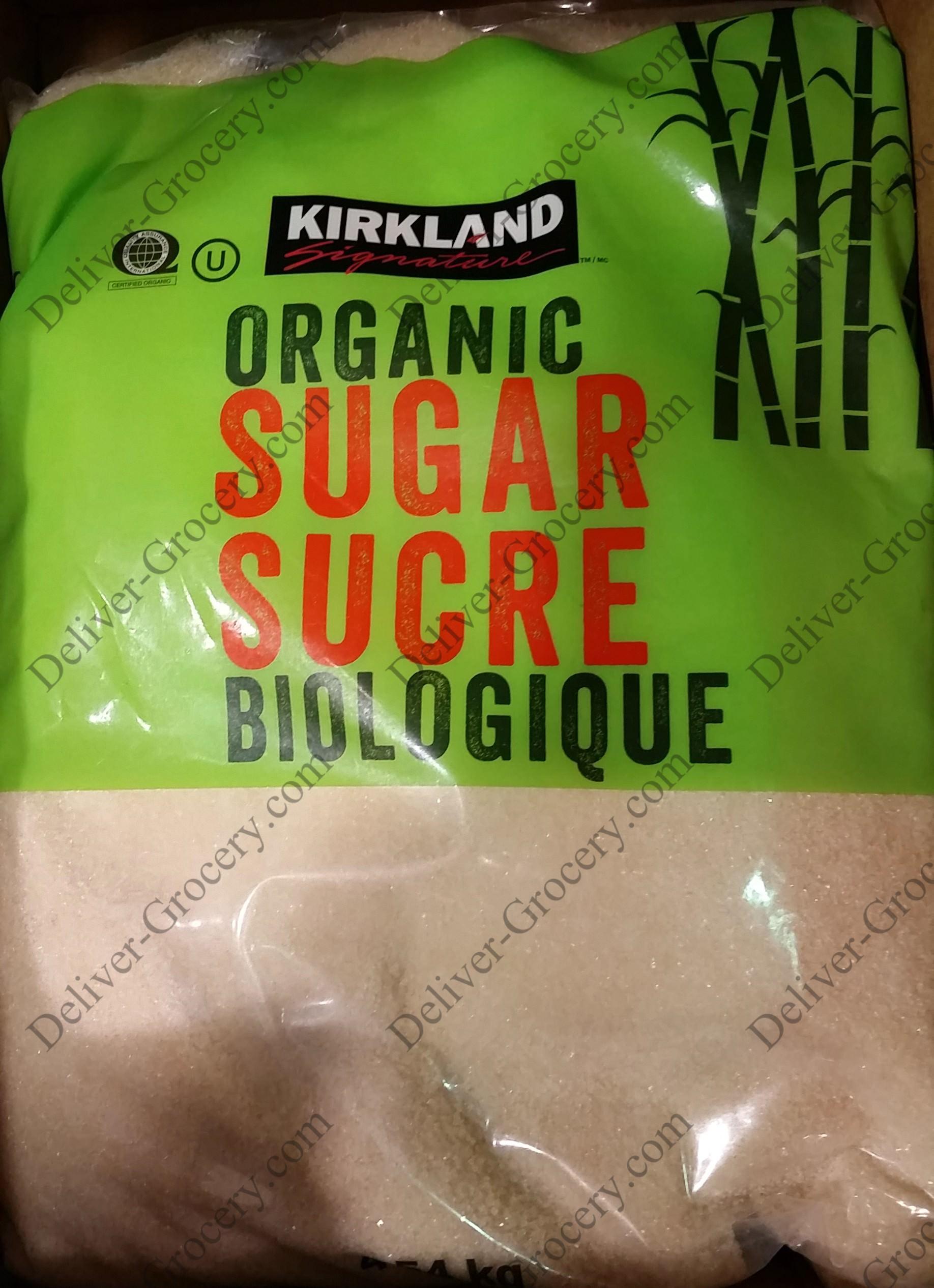 Kirkland Signature Organic Sugar 454 Kg Deliver Grocery Online Pure Green Rice Long Grain 1