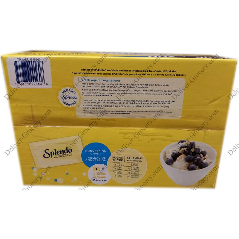 Splenda No Calorie Sweetener 12 Kg Deliver Grocery Online