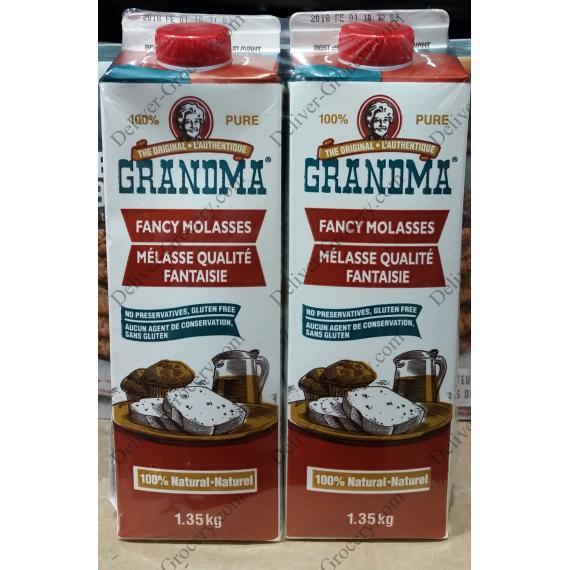 Grandma Fancy Molasses, 2 x 1.35 kg