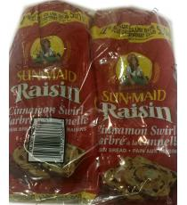 Sunmaid Raisin Bread, 2 x 550 gr