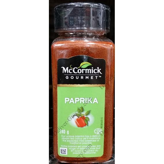 McCormick Gourmet Paprica, 240 g