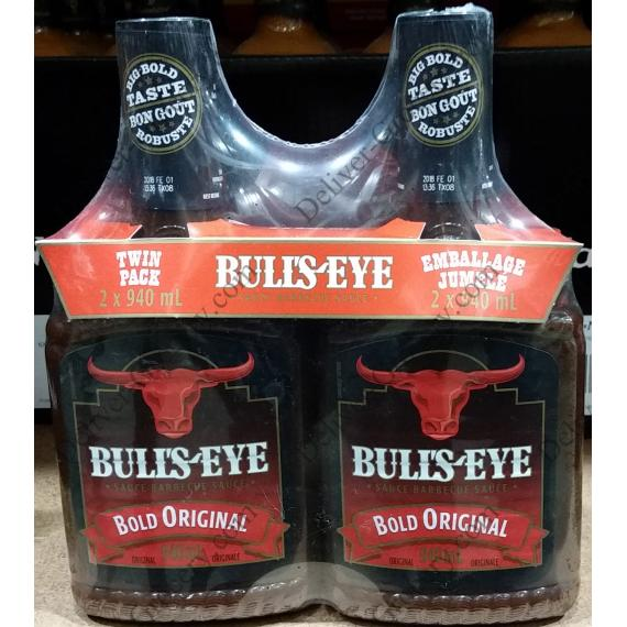 Bulls-Eye BBQ Sauce, 2 x 940 ml