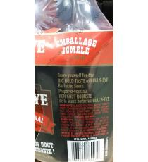 Bulls-Eye de la Sauce BARBECUE, 2 x 940 ml