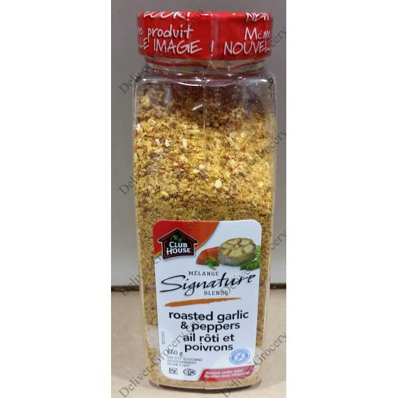 Club House Roasted Garlic & Pepper, 660 g