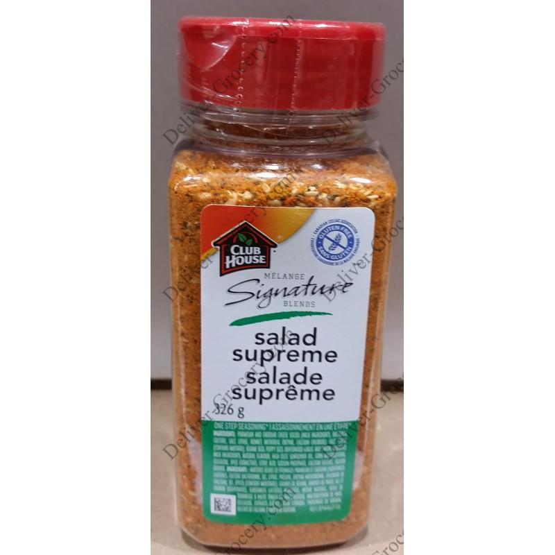 Club House Salade Supreme Seasoning, 326 G