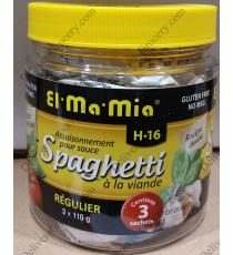 El Ma Mia Seasoning for Spaghetti Meat Sauce, 3 x 110 g