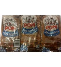 POM Ultra Soft Whole Wheat Bread, 3 packs x 675 g