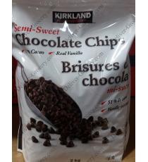 Kirkland Signature Semi-Sweet Chocolate Chips 2 kg