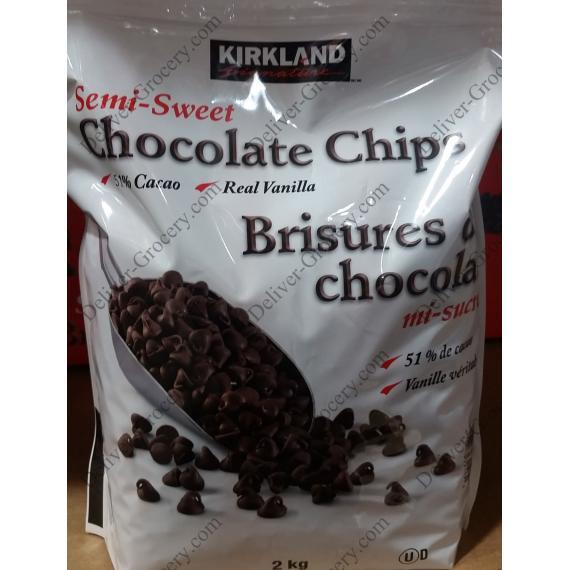 Kirkland Signature Chocolate Chips, 2 kg