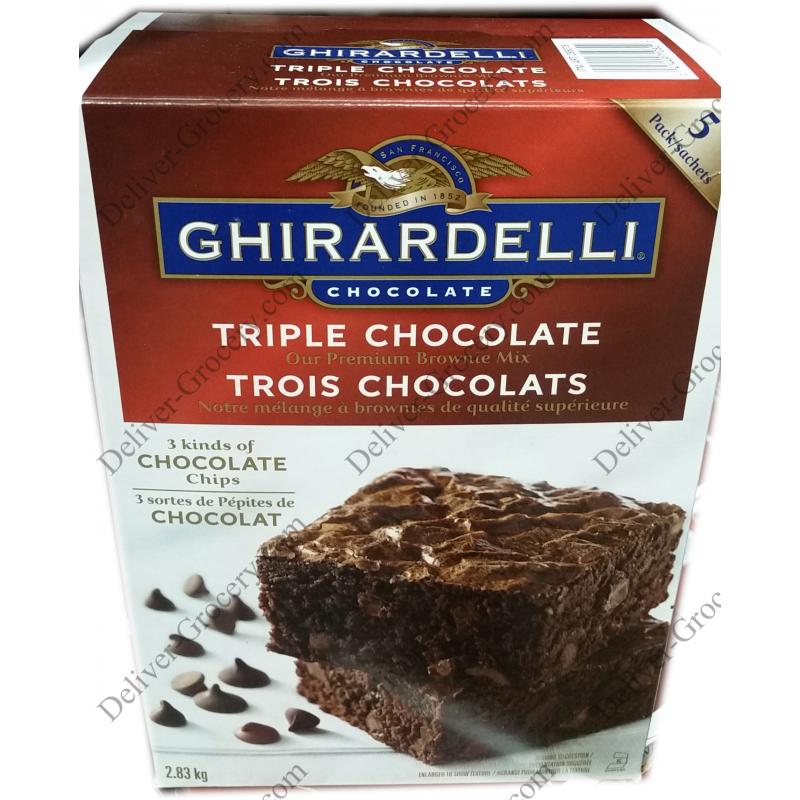 Ghirardelli Brownie Mix 2 83 Kg Deliver Grocery Online