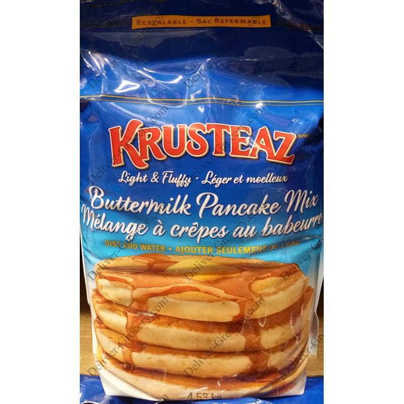 Krusteaz Buttermilk Pancake Mix 4 53 Kg Deliver Grocery Online Dg 9354 2793 Quebec Inc