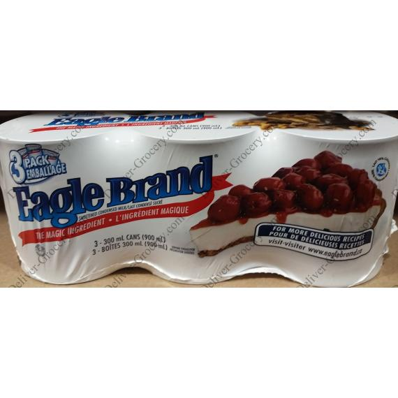 Eagle Brand Sweetened Condensed Milk, 3 x 300 ml