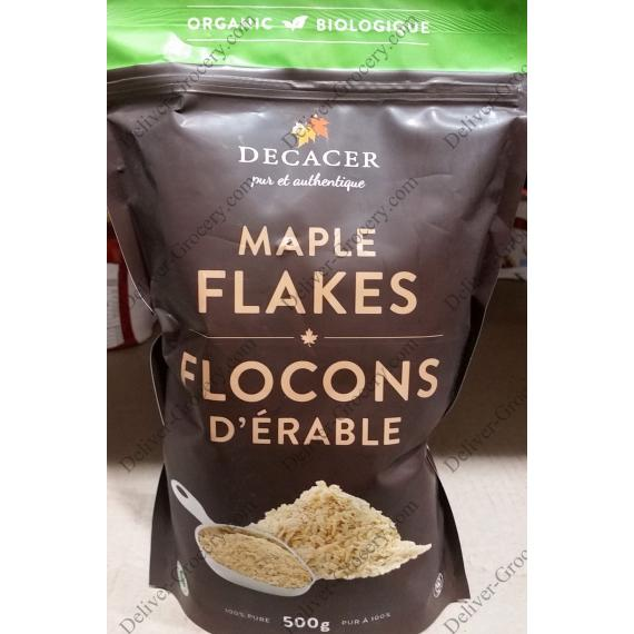 Decacer Organic Maple Flakes, 500 g