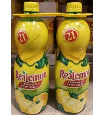 Realemon le Jus de Citron, 2 x 945 ml