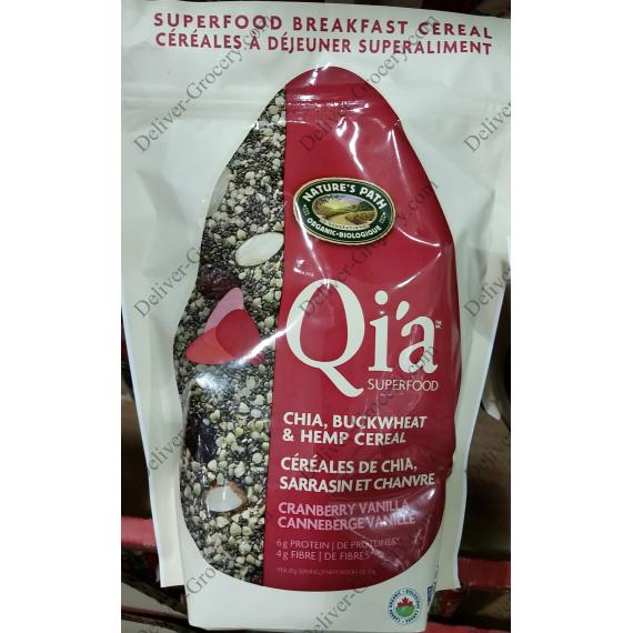Natures Path Cereal QIA, 650 g