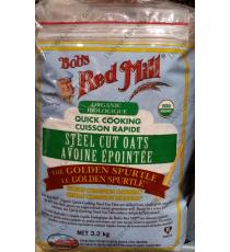 Bobs Red Mill Organic Steel Cut Oats, 3.2 kg