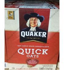 Quaker Quick Oats, 2 x 2.58 kg