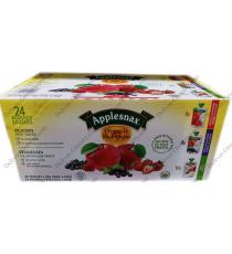 Applesnax Organique d'un Assortiment de Fruits Collations, 24 x 90 ml