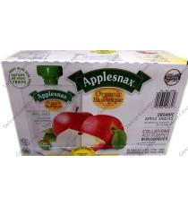 Applesnax Organic Apple Snacks, 20 x 90 g