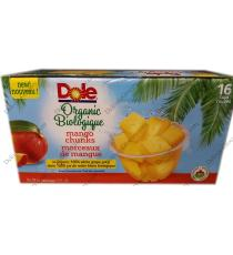 Dole Organic Mango Chunks, 16 x 107 ml